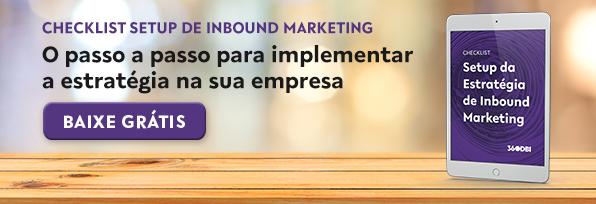 Checklist de Setup da Estratégia de Inbound Marketing