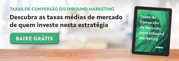 Guia de Taxas de Conversão de Mercado para Inbound Marketing